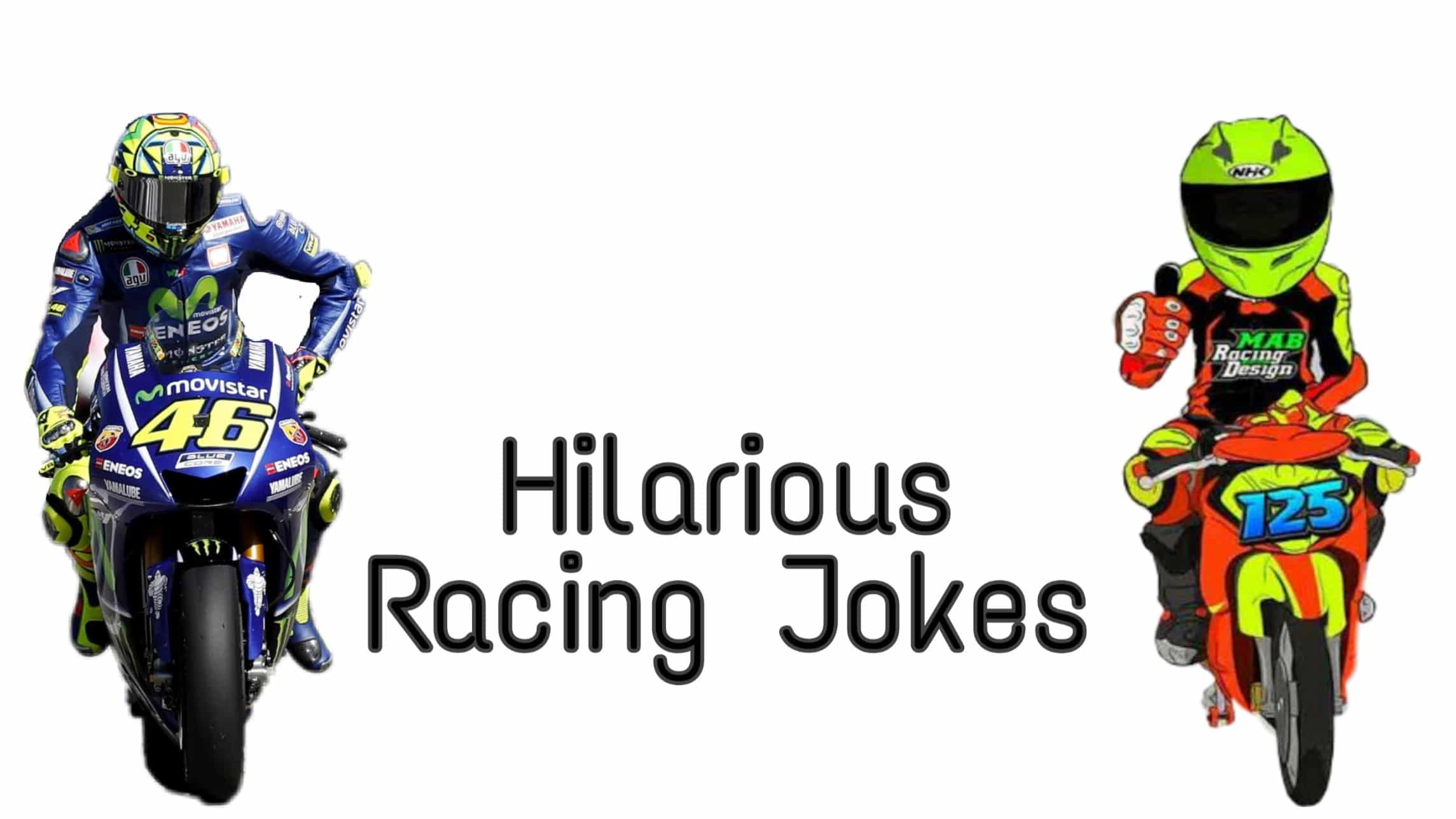 55 Racing Jokes Which Will Have You Rolling Over
