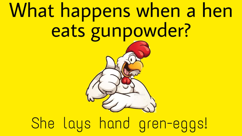 Hilarious chicken puns