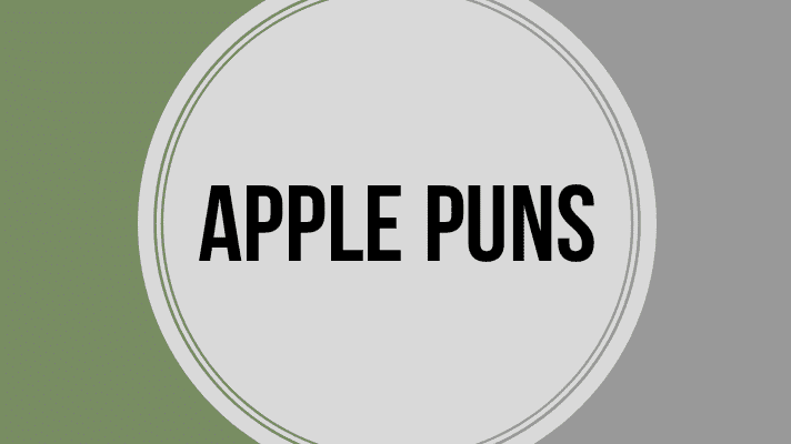 58+ Apple Puns that will make you laugh out loud