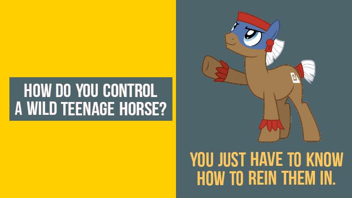 Puns about horse