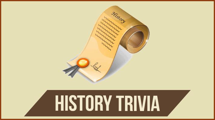 history quiz questions