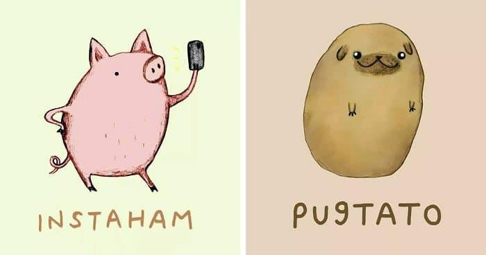 funny animal puns
