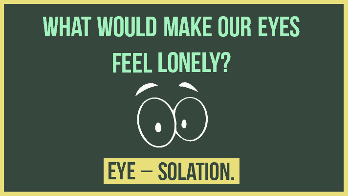 Eyes puns and jokes
