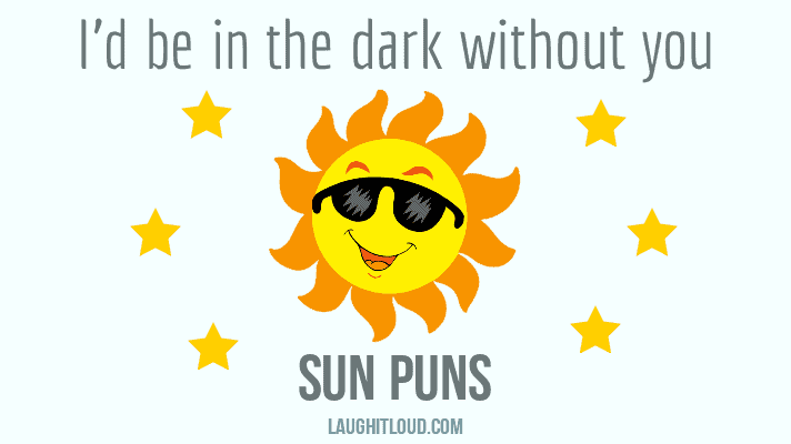 40+ Sun Puns That Are So Hot