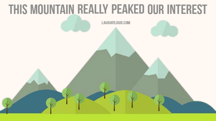 40+ Mountain Puns That Will Definitely Peak Your Interest
