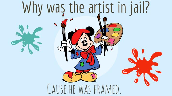 40+ Hilarious Art Puns To Frame you up